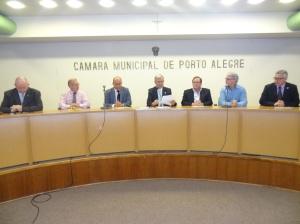 Reunião da Cefor sobre a ampliação da pista do aeroporto ocorreu no Plenário Ana Terra da CMPA